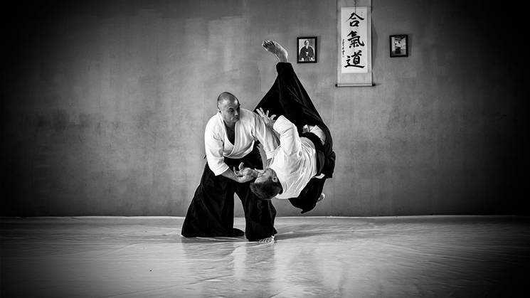 Kép a(z) Aikido óráról